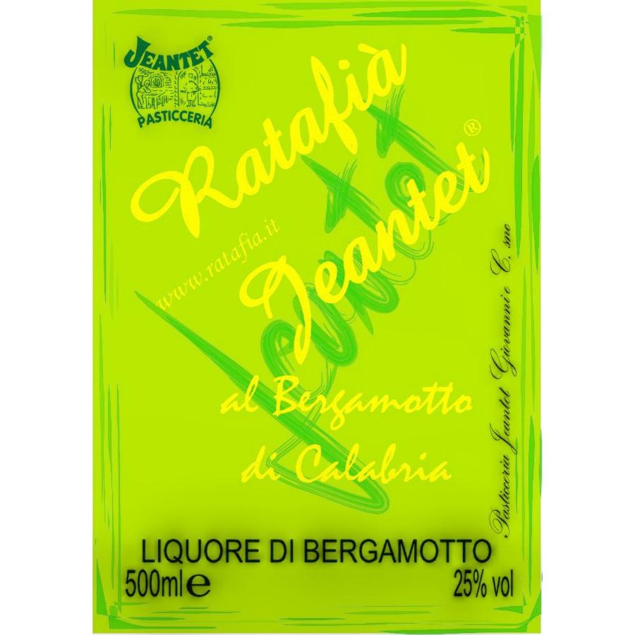 Etichette Ratafia bergamotto