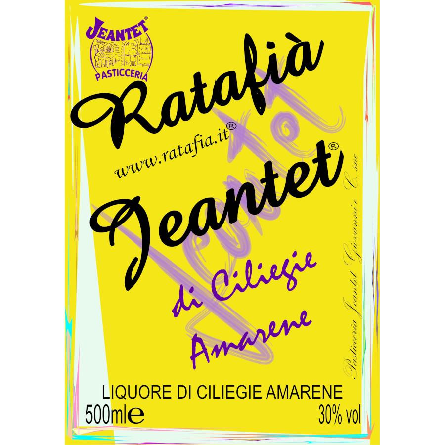 Etichette Ratafia ciliegie amarene