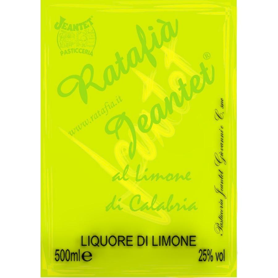Etichette Ratafia limone